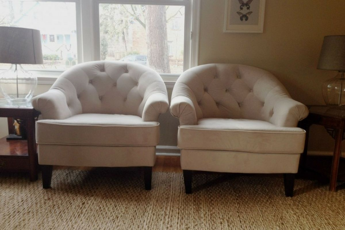 Buy White Comfortable Chairs For Living Room In Lagos Nigeria