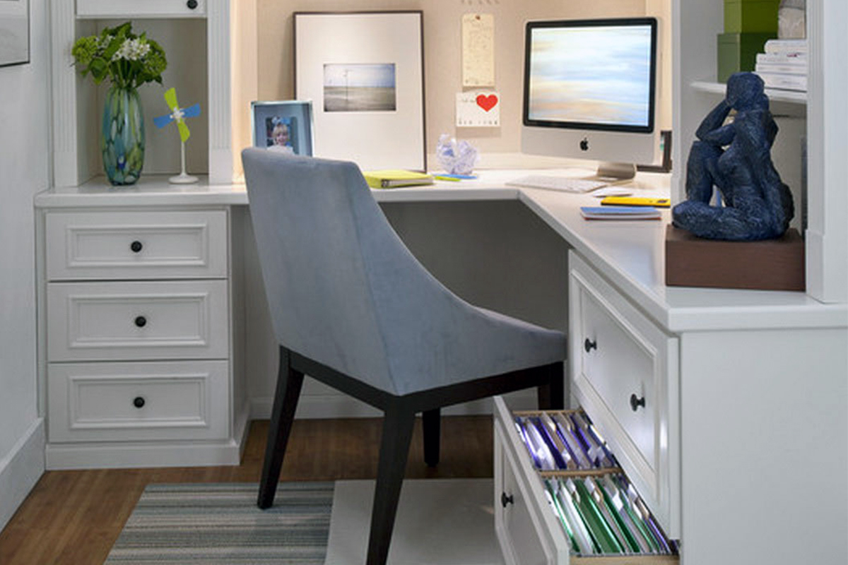 White Corner Office Desks For Home In Lagos Nigeria