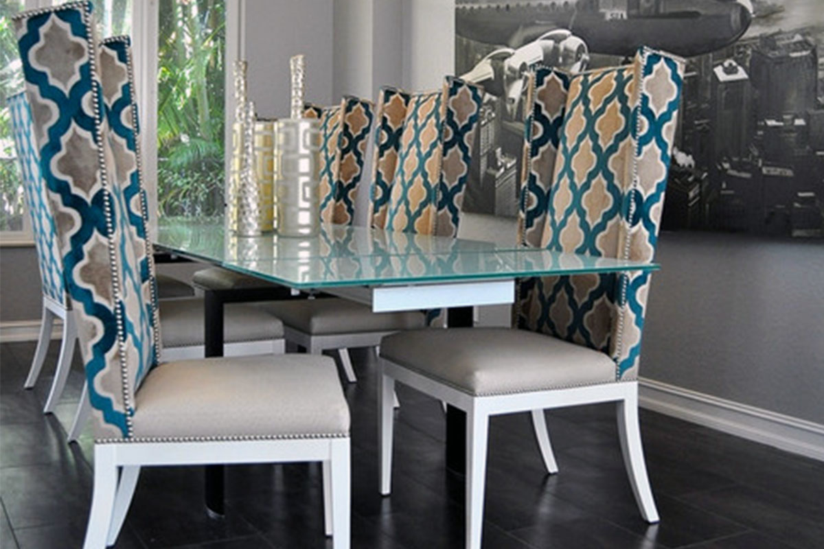 Buy Glass Dining Table Sets 6 Chairs In