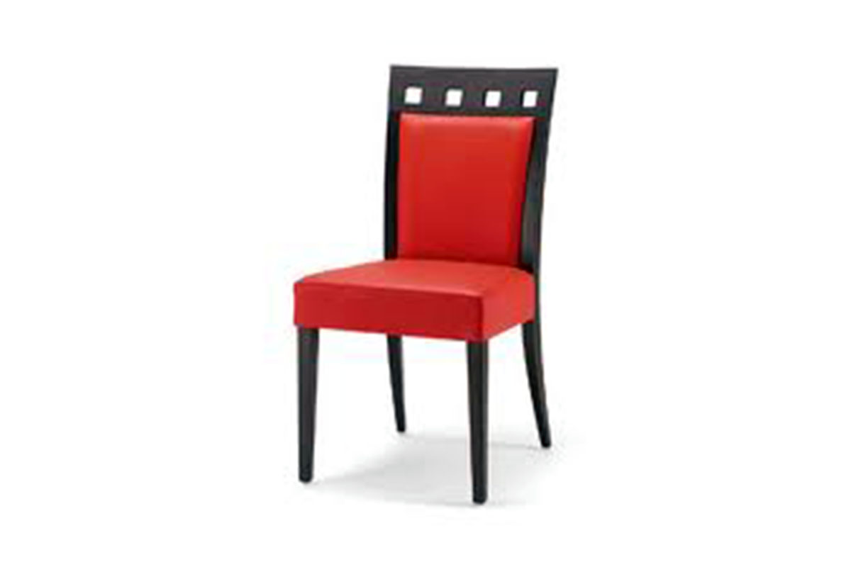 Buy red padded dining chair in lagos nigeria for Red dining room chairs