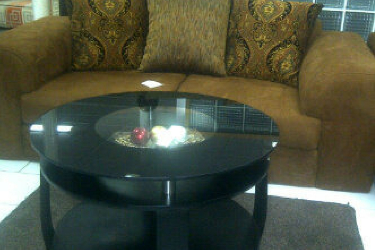 Round Gl Centre Table For Living Room
