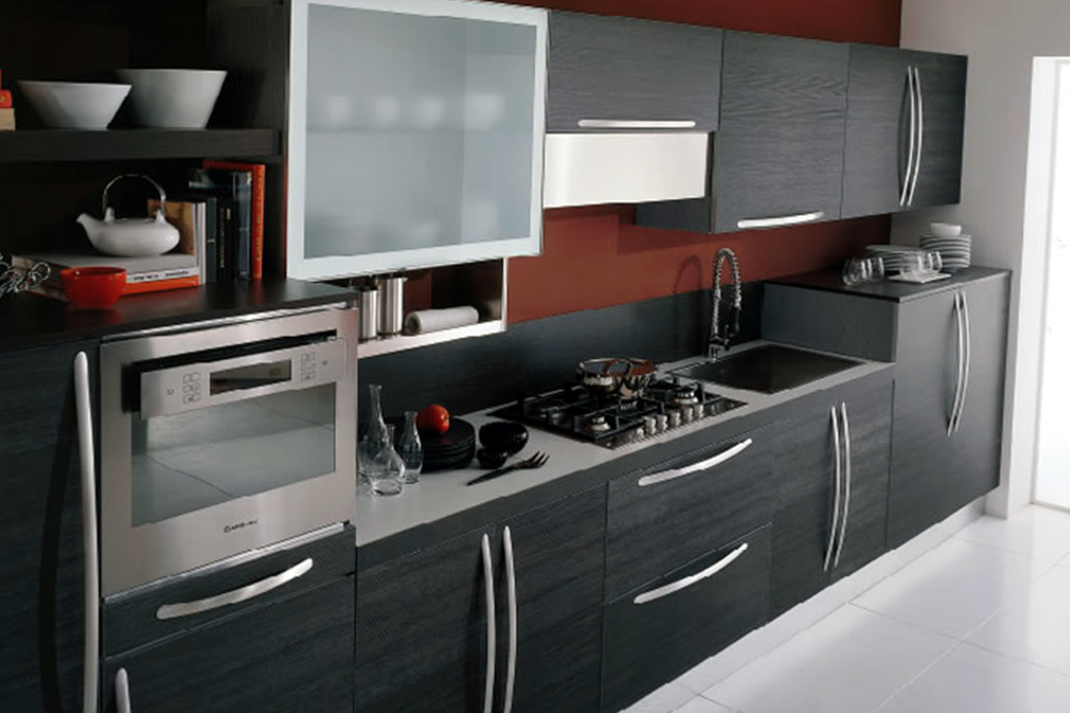 Buy Black Kitchen Cabinet With Drawers In Lagos Nigeria