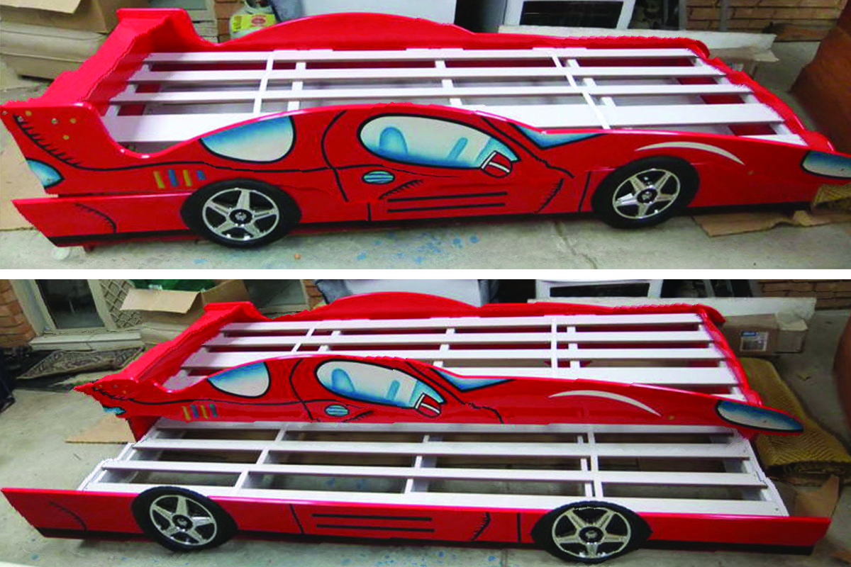 Buy Childrens Race Car Bed In Lagos Nigeria