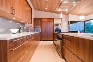 Buy oak kitchen cabinet with white countertops in Lagos Nigeria