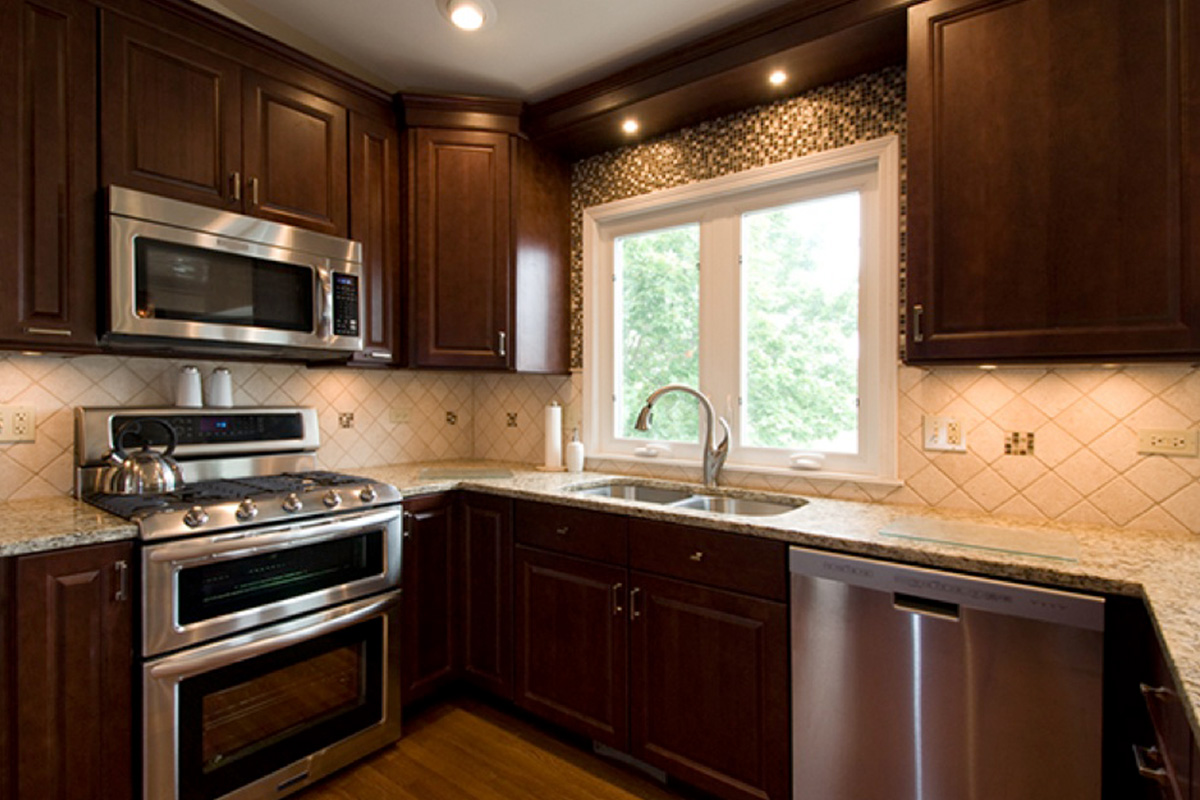 Buy Brown Wood Cabinet With Granite Countertops In Lagos