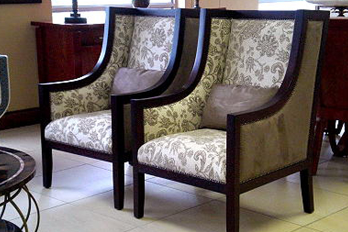 Relatively Buy wooden frame chairs with cushions in Lagos Nigeria PA64