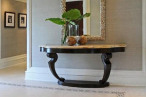 Buy wood console with marble top in Lagos Nigeria