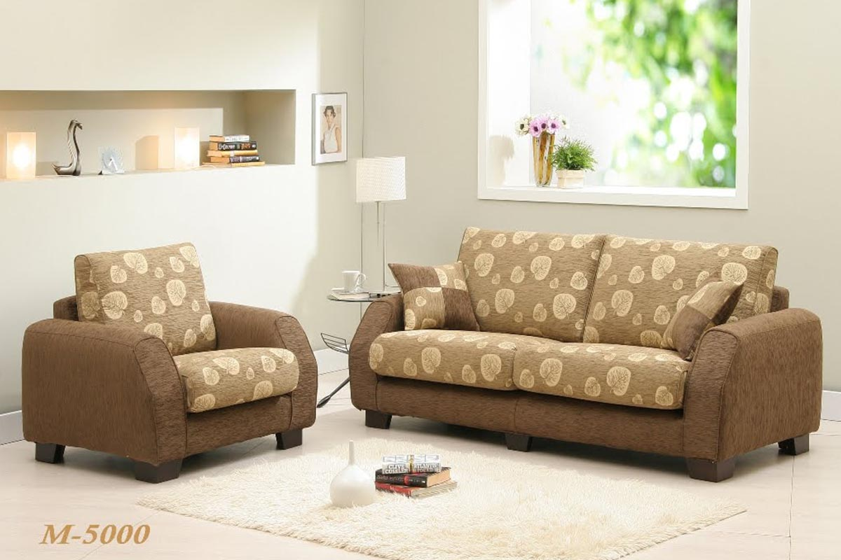Buy brown floral sofa set in lagos nigeria